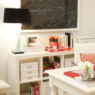 空间定制家用书房带书柜架双人长办公书桌写字台台式电脑桌子