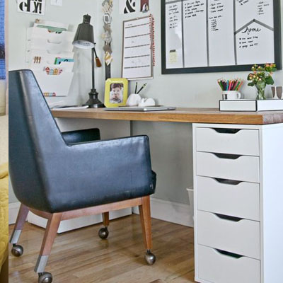 钢化玻璃电脑桌台式 家用简约书桌 学习桌书房写字桌子带抽屉